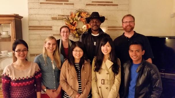 Foto bersama pembimbing akademik saya dan mahasiswa bimbingannya