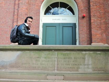 Liburan musim dingin di Harvard University..