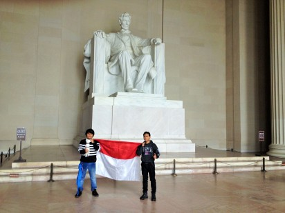 Lincoln memorial, Washington, DC..