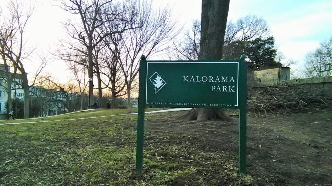 Taman yang dilalui ketika mencari hostel... dimusim semi, pepohonanya baru akan terlihat indah,,,