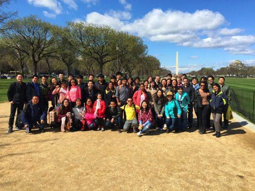 Mahasiswa Lehigh yang mengikuti DC Trip, di dominasi mahasiswa International (Foto: OISS)
