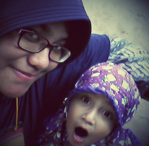 Bersama Putri saya Kayyisa (Foto: Anandita)