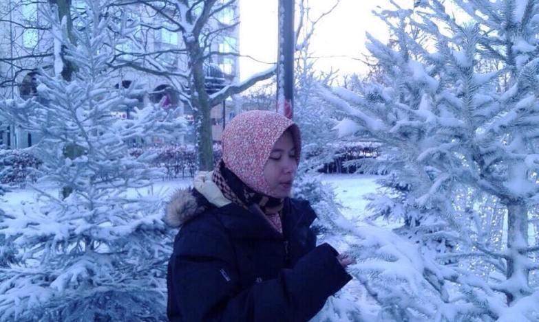 Suasana musim dingin di Swedia (Foto: Rachmi)